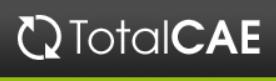 TotalCAE logo